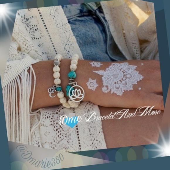 New Gorgeous set of Bohemian bead bracelets